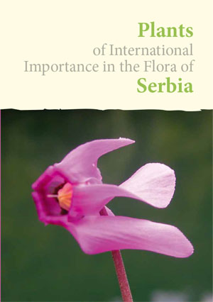 Plants of International importance in the Flora of Serbia