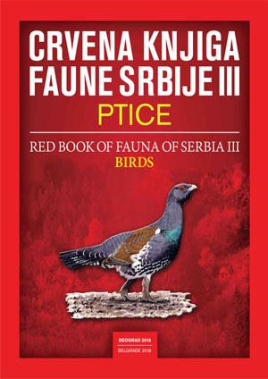 Red Book of Fauna of Serbia III – BIRDS