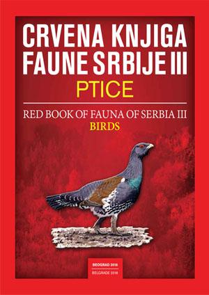 Red Book of Fauna of Serbia III – BIRDS